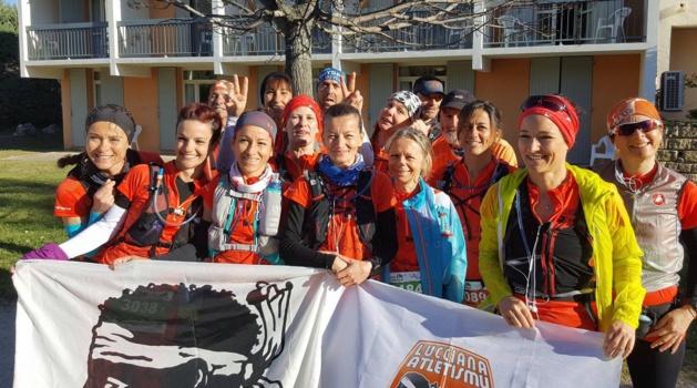 Lucciana Atletismu en force au trail du Ventoux