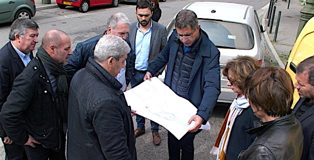 Bastia : Requalification des abords de la chapelle de l'Annonciade