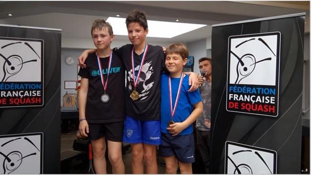Squash : Antonin Romieu sacré à Toulouse champion de France U13 !