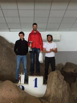 Le podium de la 22 kilomètres