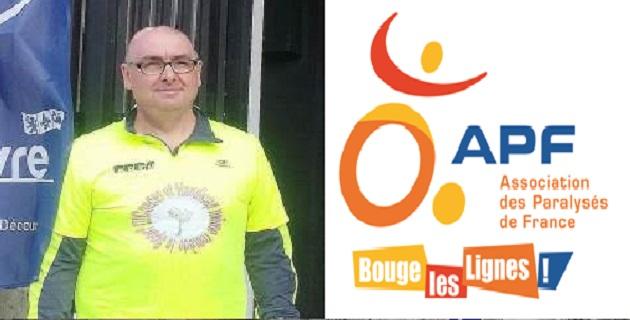 Bastia :  Pascal Baron, hémiplégique et atteint d'une tumeur au cerveau, entame un tour de Corse à pied !
