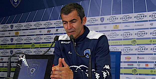 L'entraîneur du Sporting Rui Almeida