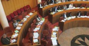 Les bancs désertés des élus de Prima a Corsica, groupe de Paul Giacobbi.