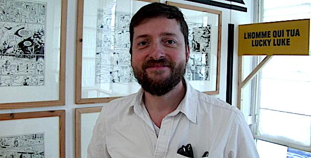 BD à Bastia : Matthieu Bonhomme, l'homme qui dessine plus vite que son ombre !