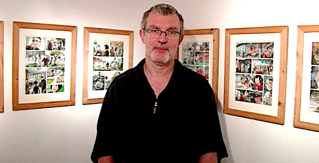 L'illustrateur Vincent Bailly