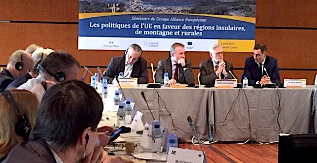 Déclaration d'Aiacciu pour les politiques de l'UE en faveur des zones insulaires, montagneuses et rurales