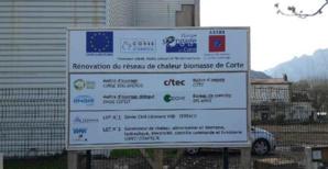 La SEM Corse Bois Energie rénove la chaufferie de Corte et duplique son modèle dans d'autres villes corses