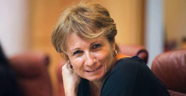 Nadine Nivaggioni, conseillère territoriale Femu a Corsica et présidente de la SEM Corse Bois Energie.