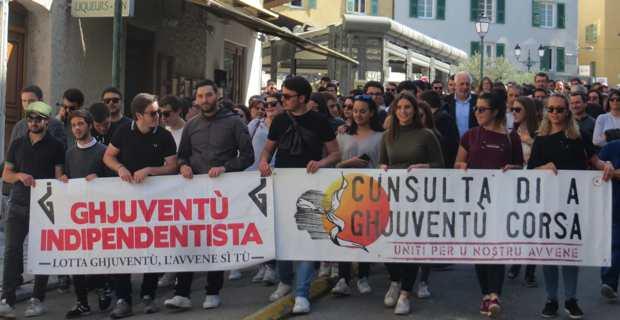 Corte : Les étudiants manifestent pour crier leur ras-le-bol contre « la répression de la jeunesse »