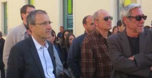 Jean-Guy Talamoni et Paul-Marie Romani.