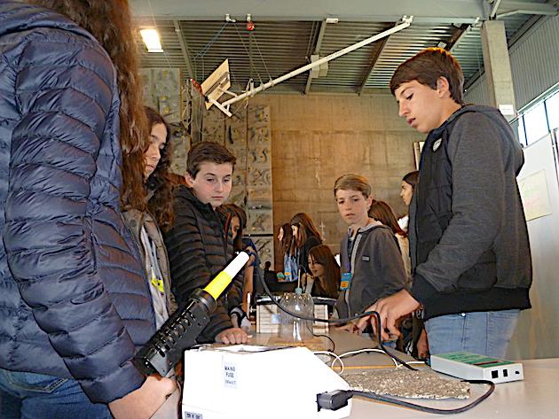 Les élèves du collège Léon Boujot PV1 de Porto Vecchio ont choisi le thème de l'urbanisme et développement durable.