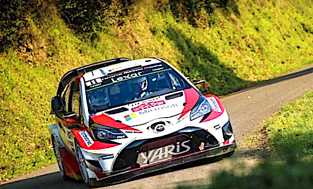 La Toyota Yaris de Hanninen