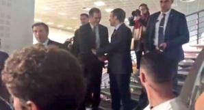 Avec Gilles Simeoni à Poretta.