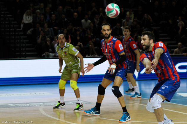 Le GFCA domine Paris-Volley (0-3)
