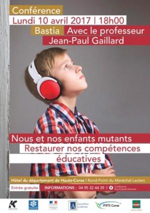 Bastia : Enfants et adolescents mutants en conférence ce lundi