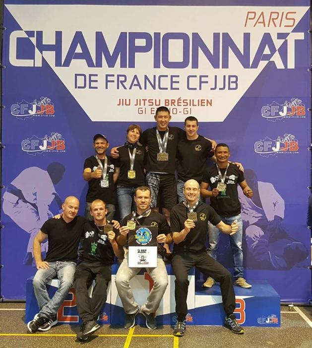 Razzia des clubs Tarra Maré et du 2e REP de Calvi aux championnats de France de Jiu-Jitsu brésilien à Paris