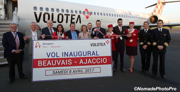 Volotea continue son envol à Ajaccio