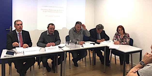 Joseph Pantaloni, élu Président de la chambre régionale de Métiers  et de l'Artisanat de Corse