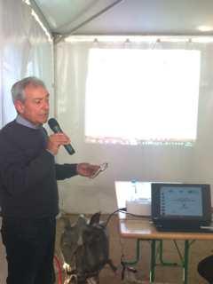 Enzo Manni, président d'une coopérative oléicole dans le Salento.