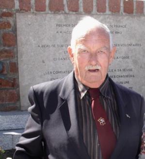 Moncale : Décès de René Le Hen, ancien du 1er Bataillon de Choc