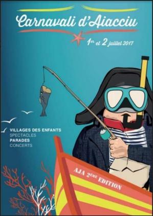U Carnavali d'Aiacciu revient le 1er et le 2 juillet. A vos masques !