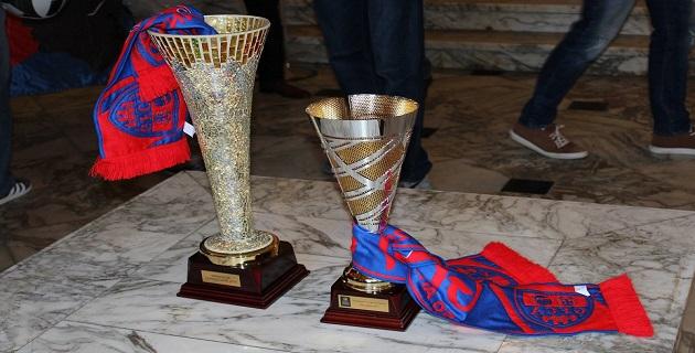 Ajaccio fête la coupe de France des volleyeurs du GFCA