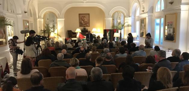La visite de l'ambassadeur de la Palestine en Corse