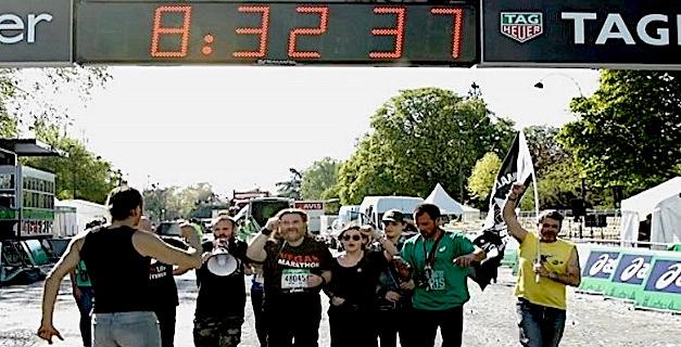 Magà Ettori, marathonien !