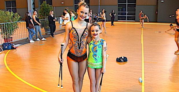Serena Carlotti et Lia Giovannoni, championnes d'Europe