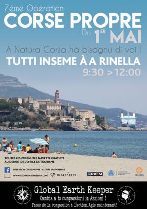 Bastia : A Natura Corsa hà bisognu di voi. Tutti inseme à A Rinella