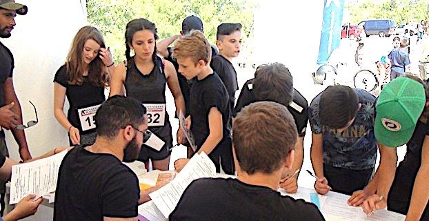 """Triathlon UNSS """" U soffiu di Balagna"""" à Algajola"""
