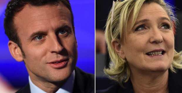 Le duel Emmanuel Macron - Marine Le Pen;