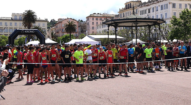 Bastia : 450 participants au 1er city trail di l'Europa