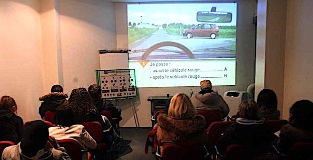 SGS France ouvre une salle d'examen pour le passage du Code de la route à Ajaccio