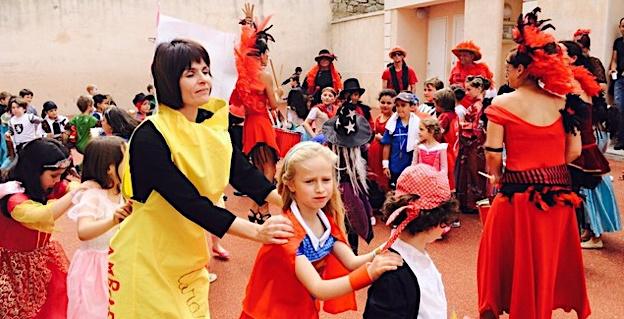 L'école Bariani de Calvi fait son Carnaval