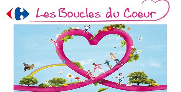Les boucles du cœur Carrefour au profit de la ligue contre le cancer la ligue contre le cancer