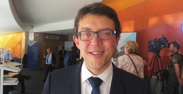 Christophe Clergeau, conseiller régional des Pays de la Loire et membre du Comité européen des Régions.