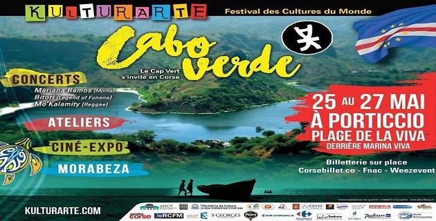 Le Cap Vert s'invite en Corse du 25 au 27 mai 2017