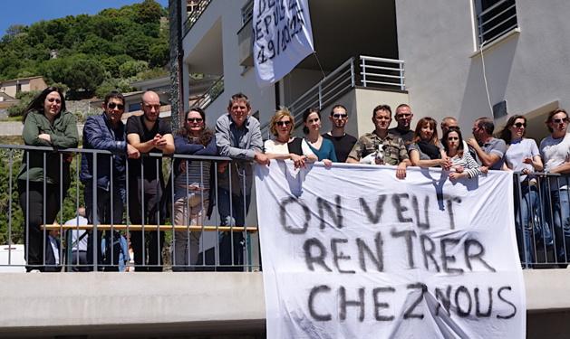 Résidence Rosa Verde à Ville-di-Pietrabugno  : Leurs appartements leur sont interdits !