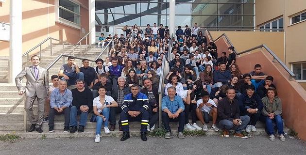 Ajaccio : Information et sensibilisation aux dangers de la route aux collèges Arthur-Giovoni et des Padule