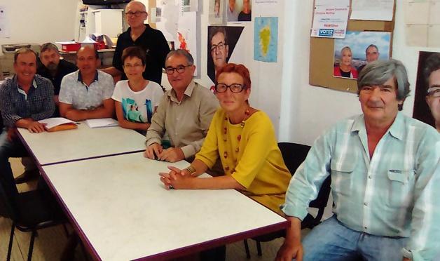 """""""Corse Insoumise"""" : Jacques Casamarta et Christine Malfroy présentent leur candidature en Corse-du-Sud"""