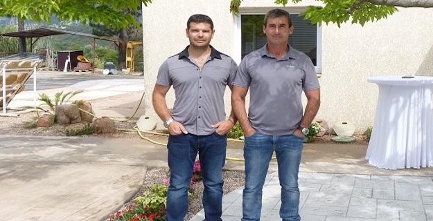 Frédéric Spanu et Jean-Marc Bonelli.