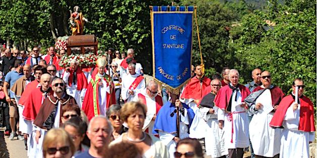 Calenzana : L'évêque de l'église de Corse au pèlerinage de Sainte Restitude