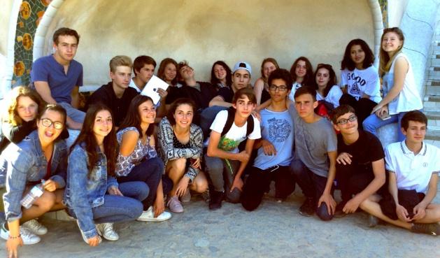 Le beau voyage des collégiens ile-roussiens en Catalogne