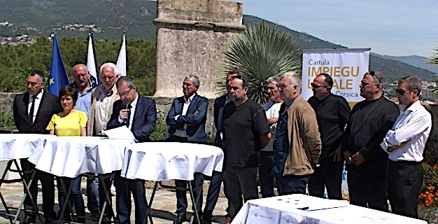 Bastia : Une charte de la CTC en faveur de l'emploi local