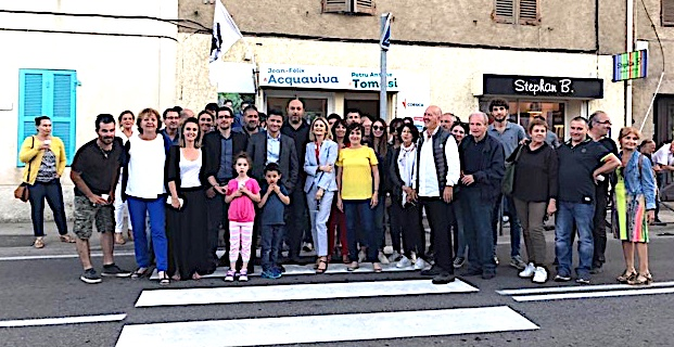 """Inaugurazione di a permanenza di """"Pè a Corsica"""" in Lisula"""