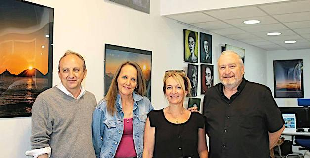 Ajaccio : L'art contemporain s'invite à l'Agence « Passion Voyage »