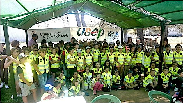 Le permis cycliste délivré à 100 élèves des écoles d'Ajaccio et de sa périphérie