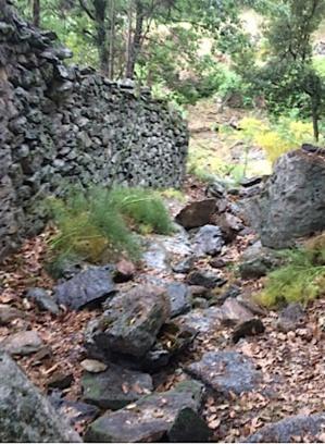 Le sentier de Saint Michel d'Ascu saccagé avant d'être réhabilité : A riposta di i savii aschesi