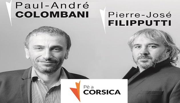 """Pierre José Filipputti : """"in Parighji pà fà ricunoscia i dritti di u populu  corsu""""."""